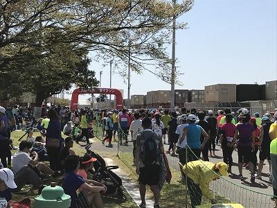 第21回 東日本国際親善マラソンスタート地点