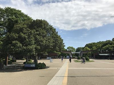 国営昭和記念公園入り口