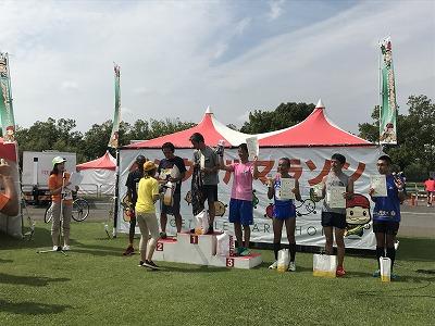 ベジタブルマラソンin彩湖表彰式