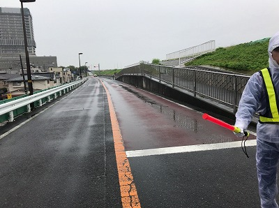 第46回タートルマラソン国際大会荒川近く