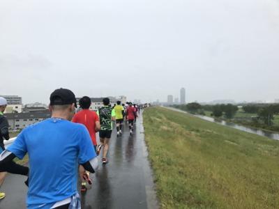 第46回タートルマラソン国際大会レース中写真