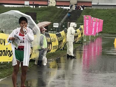 葛飾ふ~てんマラソンMCのMタカシさん