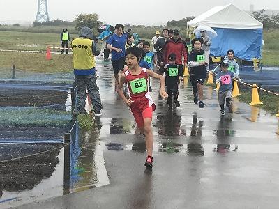 葛飾ふ~てんマラソンのミニマラソン、親子ペアマラソン