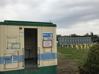 東京トライアルハーフマラソン2017トイレ