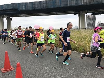 東京トライアルハーフマラソン2017ペースランナー