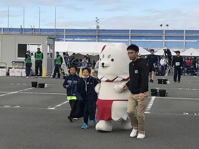 磐田市のイメージキャラクターしっぺい