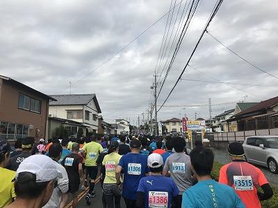 ジュビロ磐田メモリアルマラソンスタート