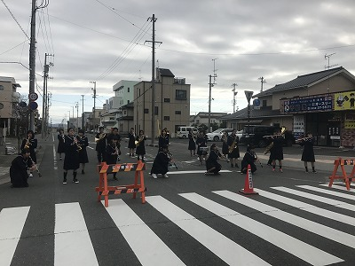 ジュビロ磐田メモリアルマラソンブラスバンド