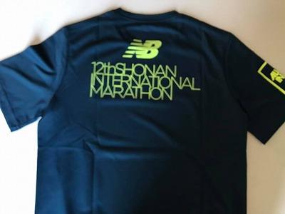 第12回湘南国際マラソン参加賞Tシャツ