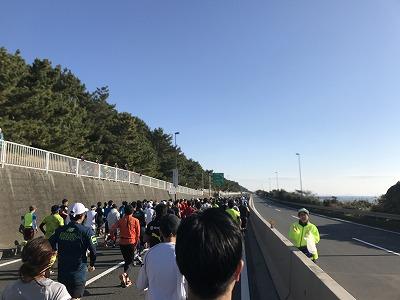 第12回湘南国際マラソンスタート直後