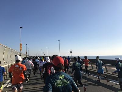 第12回湘南国際マラソン2キロ地点