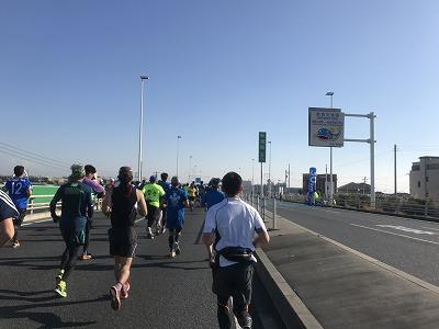 第12回湘南国際マラソン7キロ地点