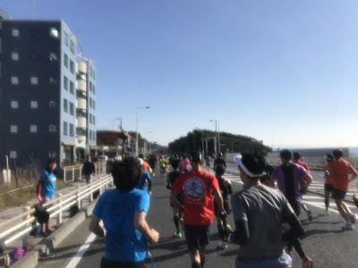 第12回湘南国際マラソン10キロ地点