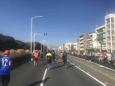 第12回湘南国際マラソン20キロ地点