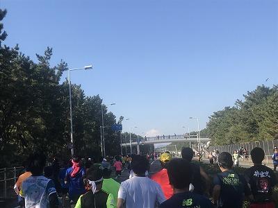 第12回湘南国際マラソン25キロ地点