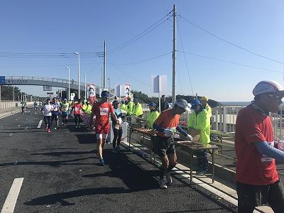 第12回湘南国際マラソン32キロ地点