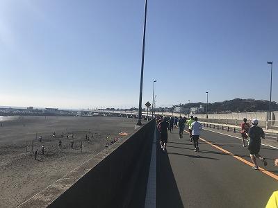 第12回湘南国際マラソン34キロ地点