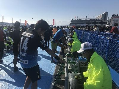 第12回湘南国際マラソンゴール地点