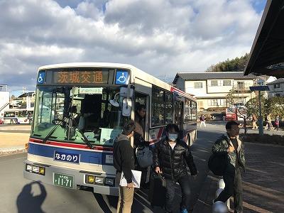 第12回かさま陶芸の里ハーフマラソン無料シャトルバス