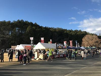 第12回かさま陶芸の里ハーフマラソン会場