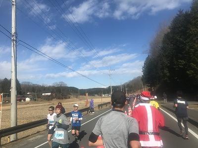 第12回かさま陶芸の里ハーフマラソン大会レース前半