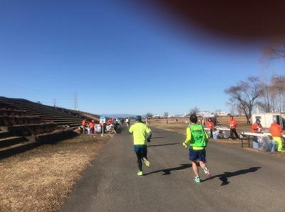 第19回ハイテクハーフマラソンスタート4キロ