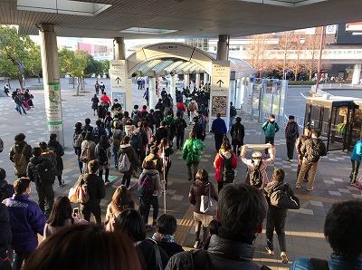 第42回サンスポ千葉マリンマラソン海浜幕張駅