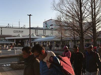 第42回サンスポ千葉マリンマラソン海浜幕張駅南口