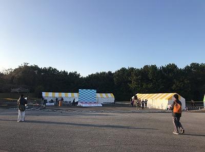 第42回サンスポ千葉マリンマラソン会場ステージ