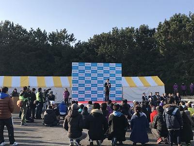 第42回サンスポ千葉マリンマラソン開会式