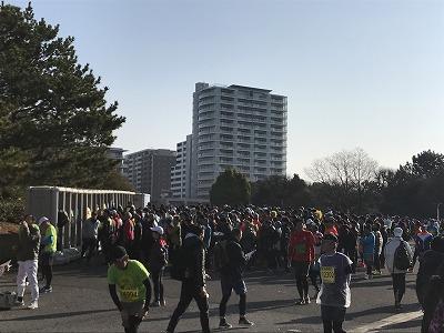 第42回サンスポ千葉マリンマラソントイレの行列