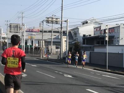 第42回サンスポ千葉マリンマラソン6キロ地点