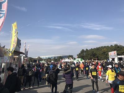 第42回サンスポ千葉マリンマラソン屋台