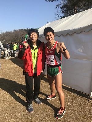 第43回森林公園完走マラソンのエムタカシさん