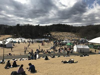 第43回森林公園完走マラソン会場広場