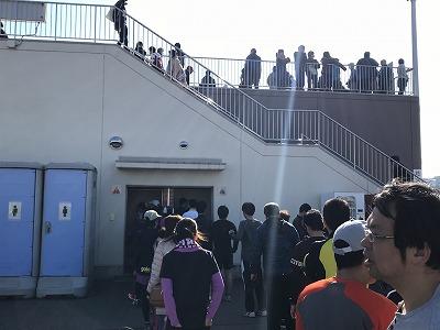 第36回鴻巣パンジーマラソントイレ