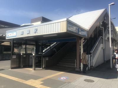 第36回鴻巣パンジーマラソン鴻巣駅