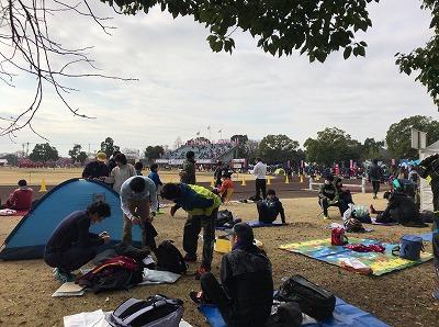 第28回熊谷さくらマラソン大会陸上競技場