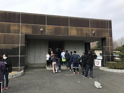 第28回熊谷さくらマラソン大会のトイレ
