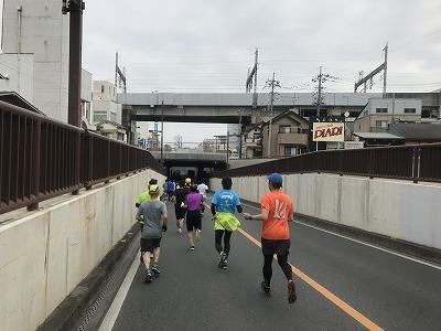 第28回熊谷さくらマラソン大会レース中写真