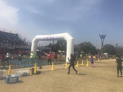 第28回熊谷さくらマラソン大会ゴール