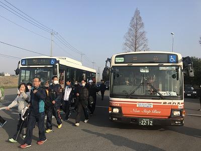 陸王杯第34回行田市鉄剣マラソン送迎バス