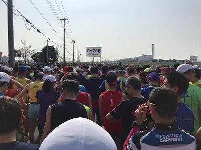 陸王杯第34回行田市鉄剣マラソン・ハーフマラソンスタート