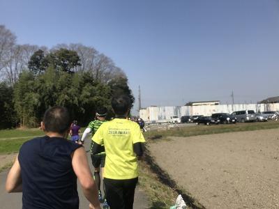 陸王杯第34回行田市鉄剣マラソン・ハーフマラソン20分後