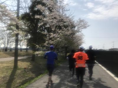 陸王杯第34回行田市鉄剣マラソン・ハーフマラソン51分後