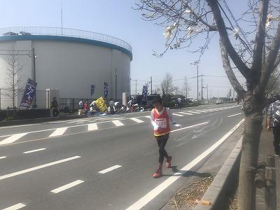 陸王杯第34回行田市鉄剣マラソン・ハーフマラソン終盤