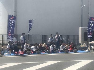 陸王杯第34回行田市鉄剣マラソン・ハーフマラソン終盤応援