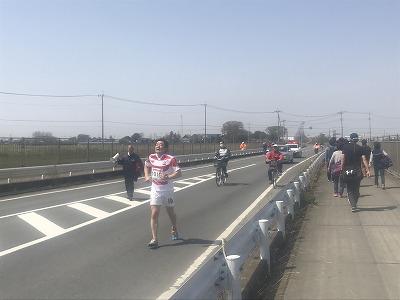 陸王杯第34回行田市鉄剣マラソン・ハーフマラソン最下位