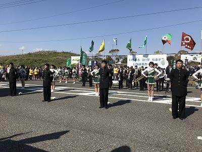 第33回焼津みなとマラソン東京農大大根踊り