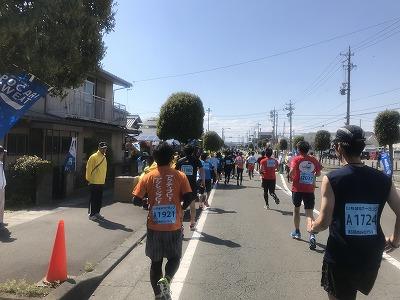 第33回焼津みなとマラソン、ハーフマラソンスタート20分後